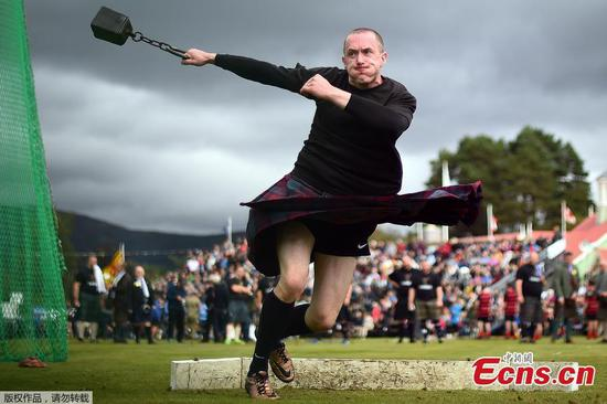 Braemar Highland Gathering in Scotland