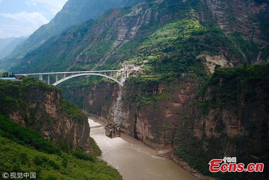 Sichuan builds bridges to replace ziplines in remote area