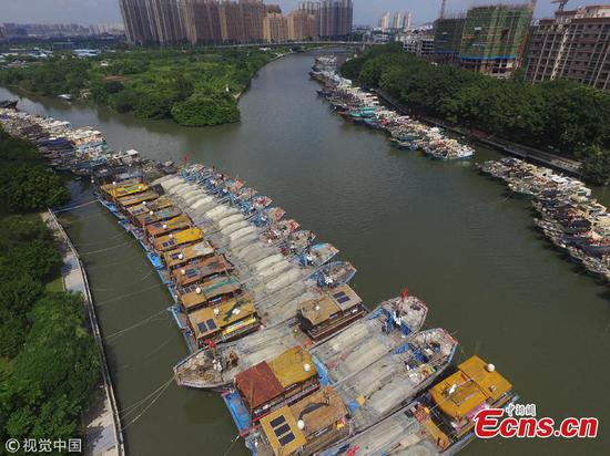 South China's Zhongshan City braces for Typhoon Mangkut