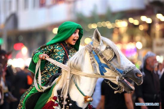 People celebrate upcoming Ashura in Baghdad