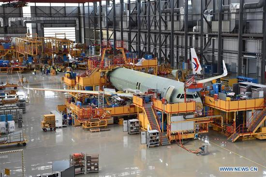 Take a look at Airbus' Tianjin final assembly line